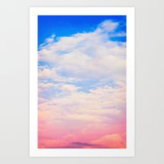 Sunset Sky Art Print