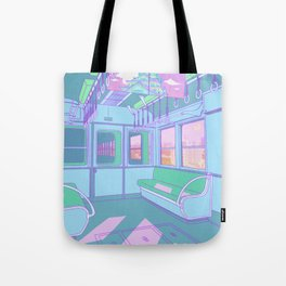 Train to Tokyo Tote Bag