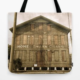 Historic Ybor Building Tote Bag