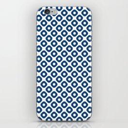 kanoko in monaco blue iPhone Skin