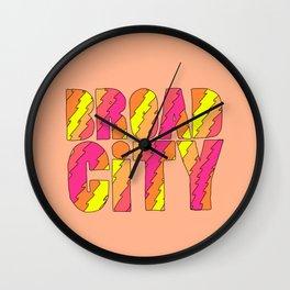 Broad City #2 Wall Clock
