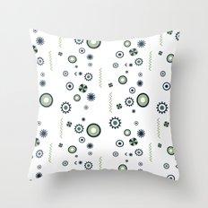 Julie pattern Throw Pillow