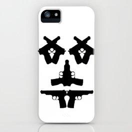 Pistol Face iPhone Case