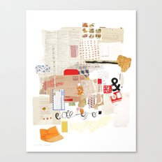 Flea Market Canvas Print