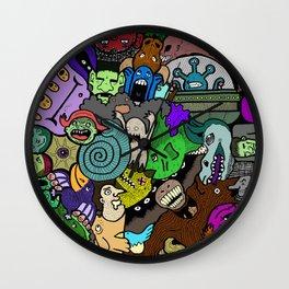 Monster Mosh Wall Clock