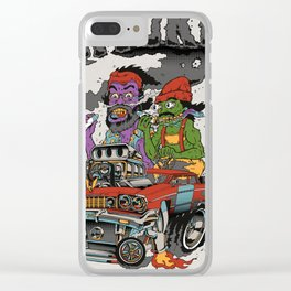 Cheech & Chong Love Machine Clear iPhone Case