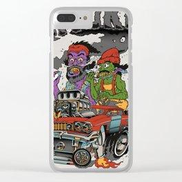 Cheech & Chong Love Machine Clear iPhone Case