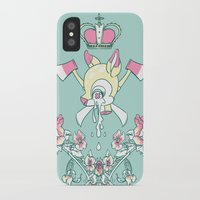 kendrawcandraw iPhone & iPod Cases featuring King Bambi by kendrawcandraw