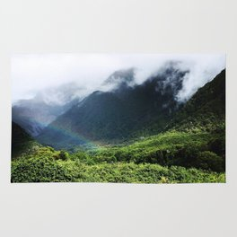 New Zealand's beauty *Fox Glacier's Tropical Forest Rug