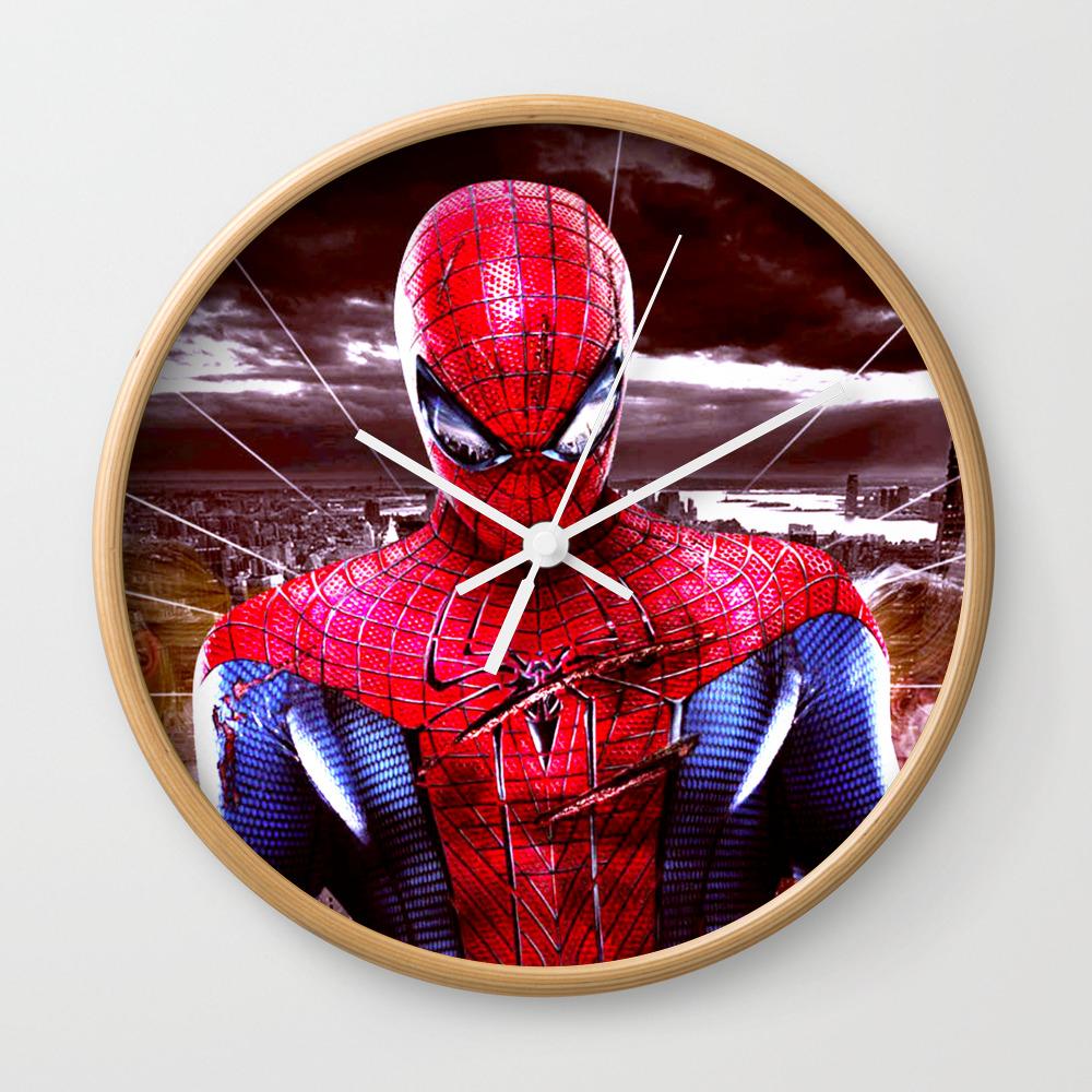Spider Man Wall Clock by 2tanduk CLK8276872
