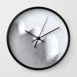 White and Minimal Wall Clock