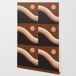 Neopolitan Hillside Wallpaper