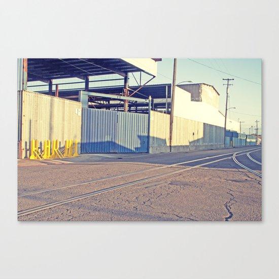 Industrial Porn West Oakland 2 Canvas Print