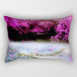 Enchanted Garden Romantic Rectangular Pillow