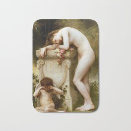 Ellergy 1899 William Bouguereau Bath Mat