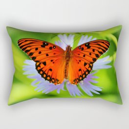 Passion Butterfly Rectangular Pillow