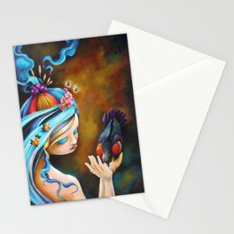Her Dedication to Purpose Stationery Cards