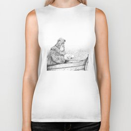 Father Mapple's Passage from Life into Death Biker Tank