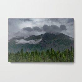 Summer Storm Clouds - Kenai_Peninsula, Alaska Metal Print