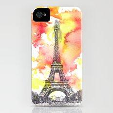 Eiffel Tower in Paris France iPhone (4, 4s) Slim Case