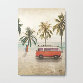 Traveling Time Metal Print