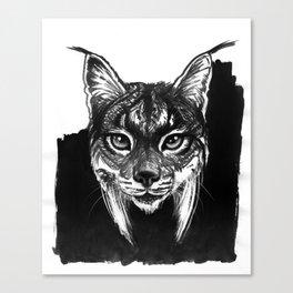 Lynx bobcat Canvas Print