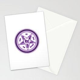 Sebastian Michaelis Sigil Dark (white bg) Stationery Cards