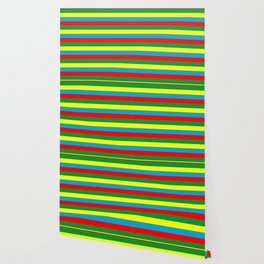 Ethiopia flag stripes Wallpaper