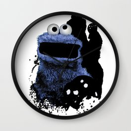 Monster Madness: Cookie Monster Wall Clock