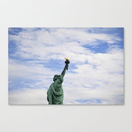 Proud Lady Liberty Canvas Print