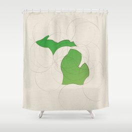 Michigan 26 Shower Curtain