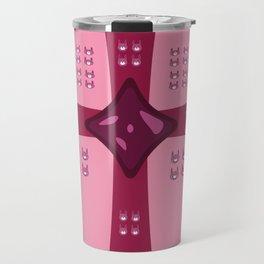 Surprise Pink Bun Bun! Travel Mug