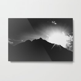 obstructed Metal Print