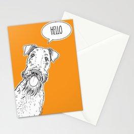 Hello Dog Stationery Cards