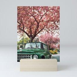Spring Blossoms, Vancouver British Columbia Mini Art Print