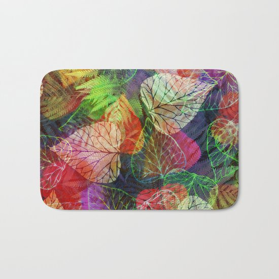 Forest Flora 2 Bath Mat