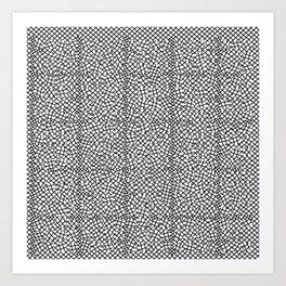 Abstract original design print Art Print