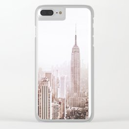 New York City Late Afternoon Clear iPhone Case