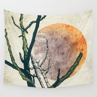 calvin Wall Tapestries featuring Rebirth by Efi Tolia