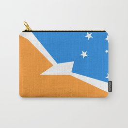 Tierra del Fuego Argentina flag Carry-All Pouch