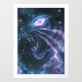 Helix Nebula Art Print