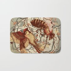 Honey & Sorrow (grey) Bath Mat