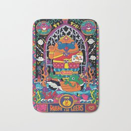 Pug Nang Kwak – Thai Goddess Of Wealth Bath Mat