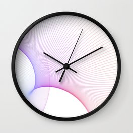 Innovation Through Technology Web And Data Art Wall Clock