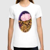 peony T-shirts featuring Peony by Vargamari