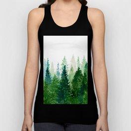 Pine Trees 2 Unisex Tank Top