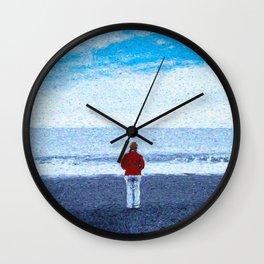 That Wild Ocean Wall Clock