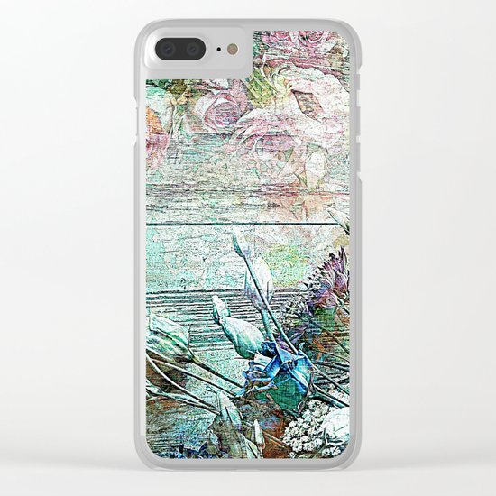 Anywhere the wind blows Clear iPhone Case