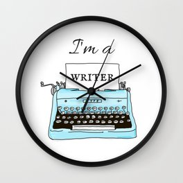 I'm A Writer Wall Clock