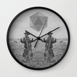 Never Trust a Three Armed Hungarian Shepard Boy Wall Clock